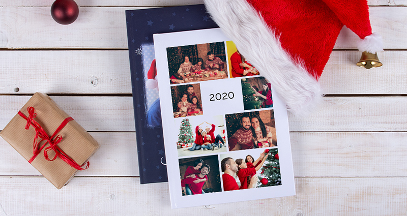 A 24x24 Photo Book using the Year in Review template