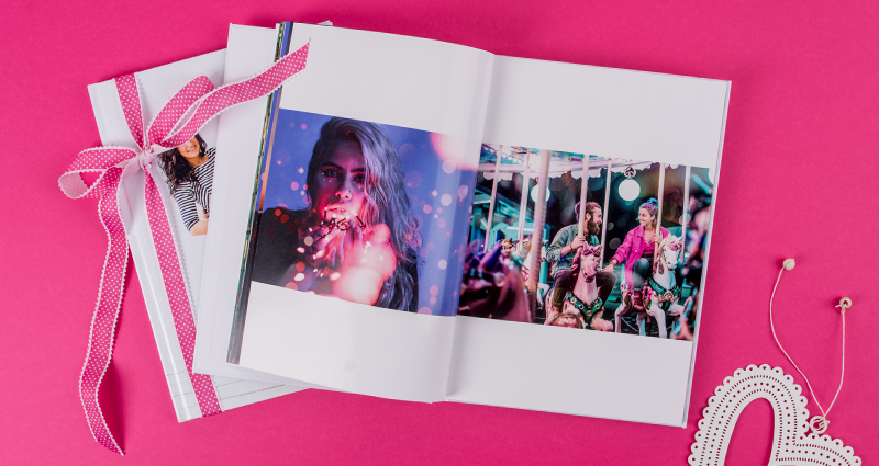 A photo book from funfair.