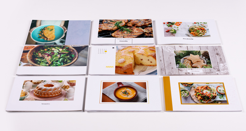 A5 Photo Cookery Books