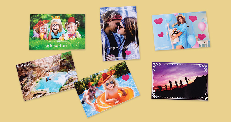 Personalised photo prints – different options