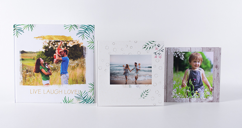 Photo Books: 30x30, 24x24 and 20x20 cm