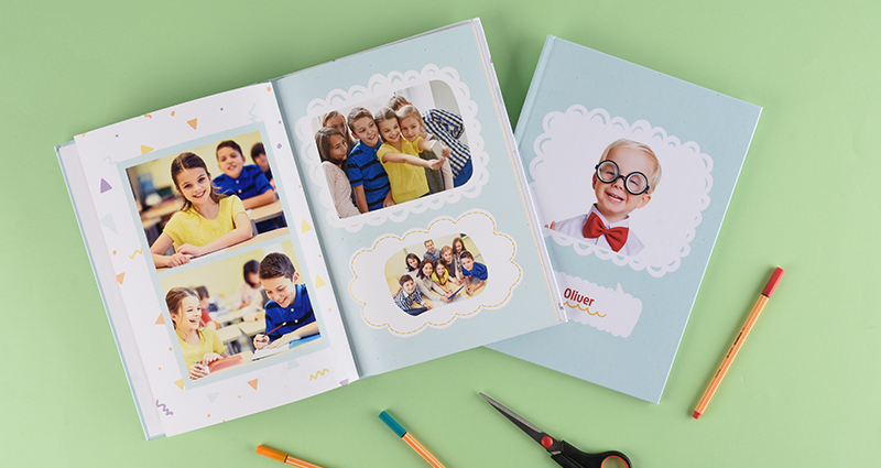 School Photo Book for children from primary schools