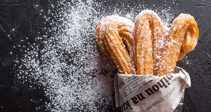 Spanish cuisine - churros