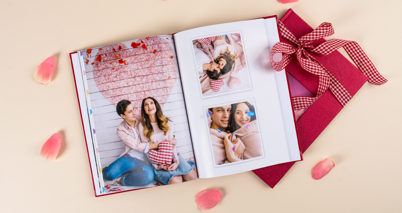 Valentine's Day exclusive photo book.