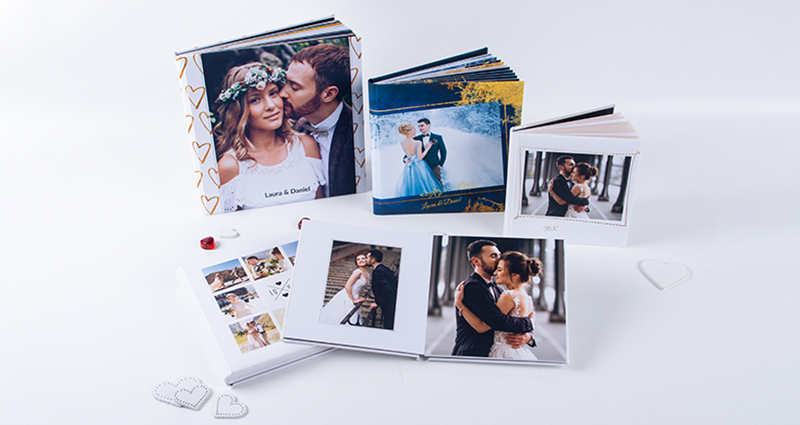 Wedding Photo Albums in three formats: 30x30, 20x20, 15x15 cm