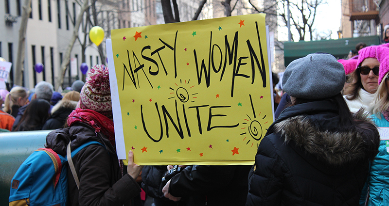 Women's Day – demonstrations, photo 2.