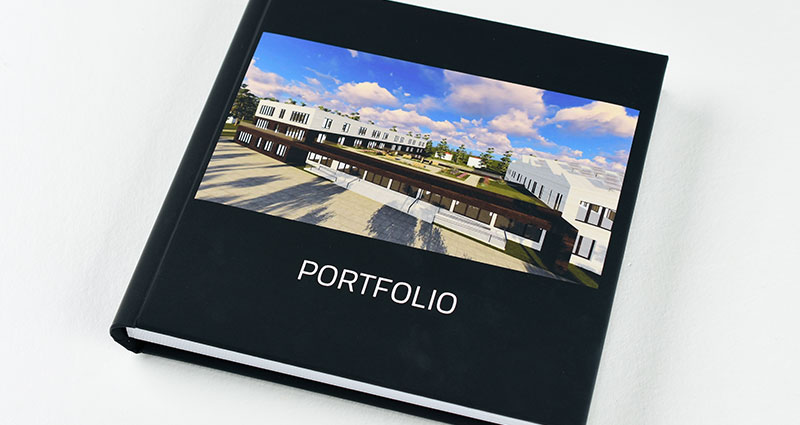 Architect's portfolio with his best projects.