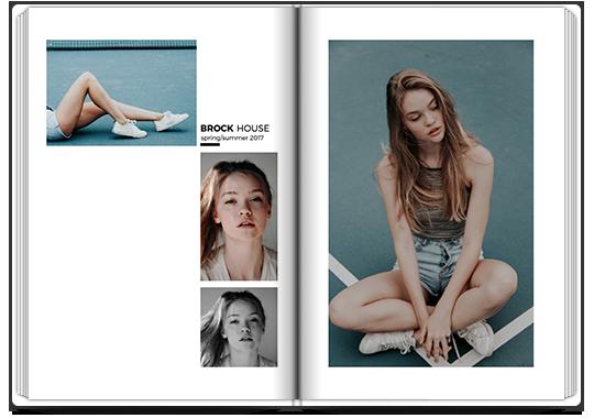 Photo Book Modeling Portfolio | Colorland UK