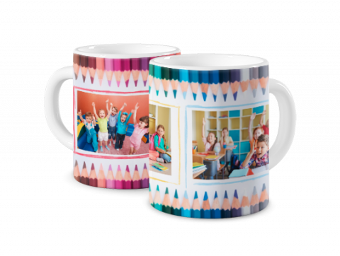 Coloured Mug For Kindergarten Pupil
