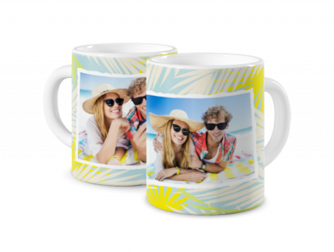Coloured Mug Sunny Holidays