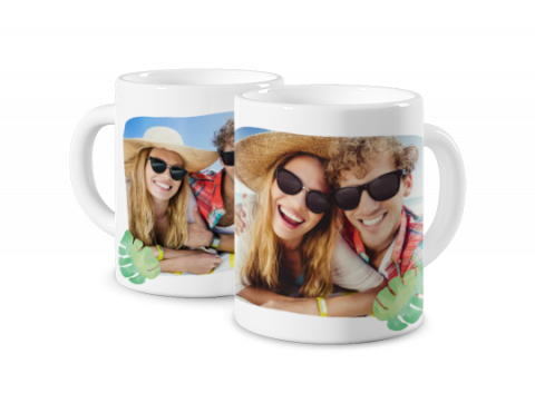 Coloured Mug Summer Time