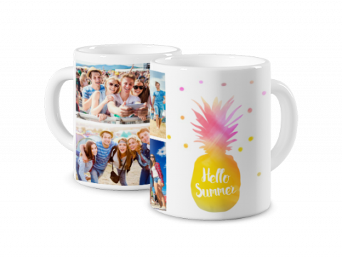Coloured Mug Summer Time 2