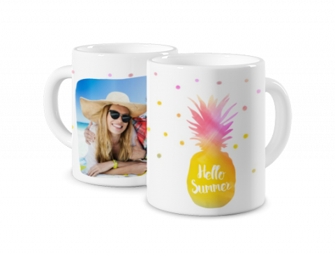 Coloured Mug Summer Time 3