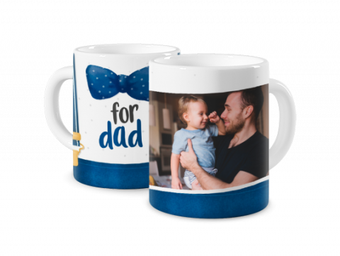 Coloured Mug Braces for Dad