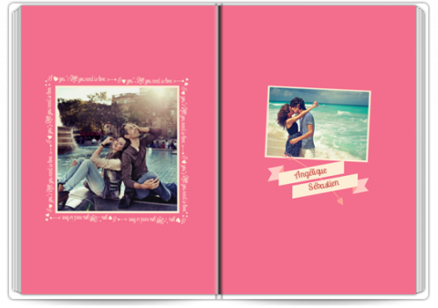 Livre Photo Premium A4 Vertical Forever in Love