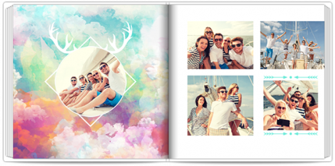 Luxury Photo Album 15x15 Square Insta Colour