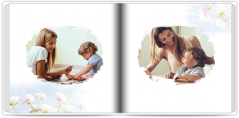 Luxury Photo Album 15x15 Square A gift for Mom