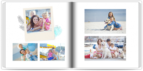 Luxury Photo Album 15x15 Square Travel Keepsake
