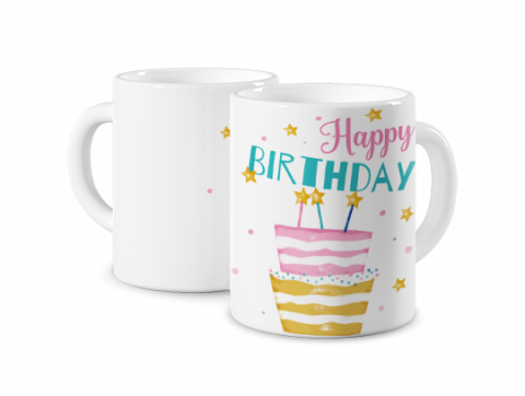 Mug Photo Magique Happy Birthday