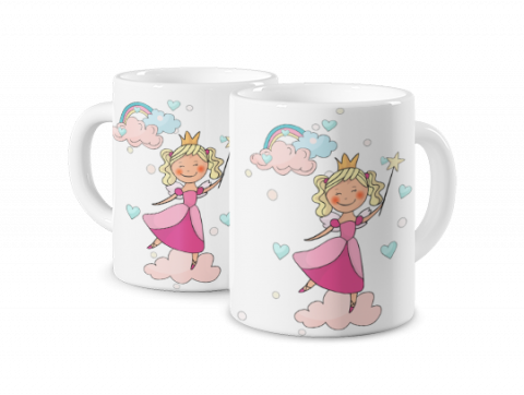 Magic Mug Little Queen