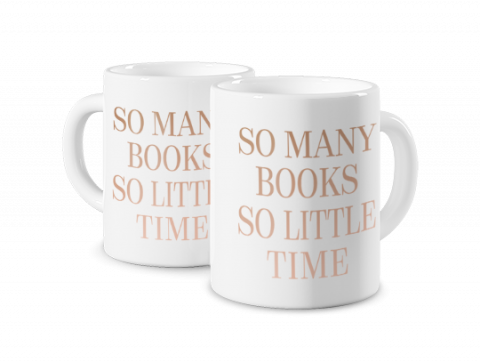 Mug Photo Magique Many Books Gold