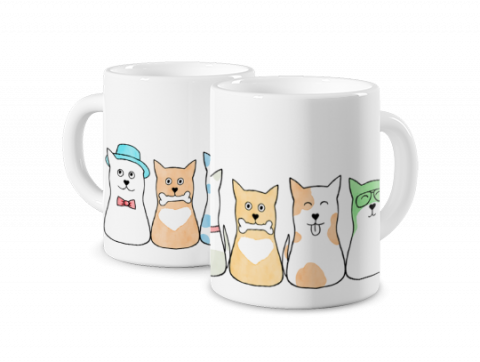 Magic Mug Dog Family