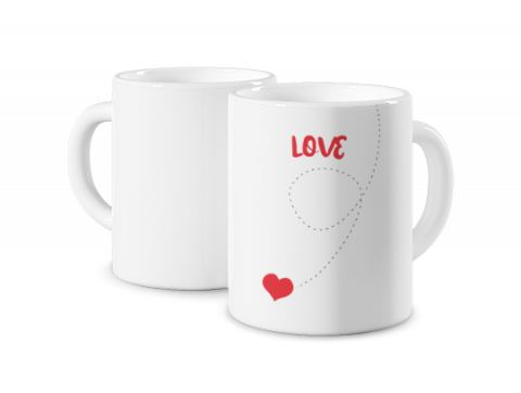 Magic Mug Love Is in the Air