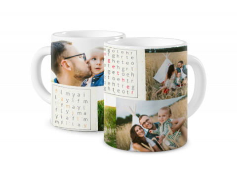 Mug Coloré Family Together