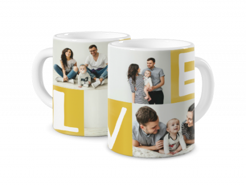 Mug Coloré Love