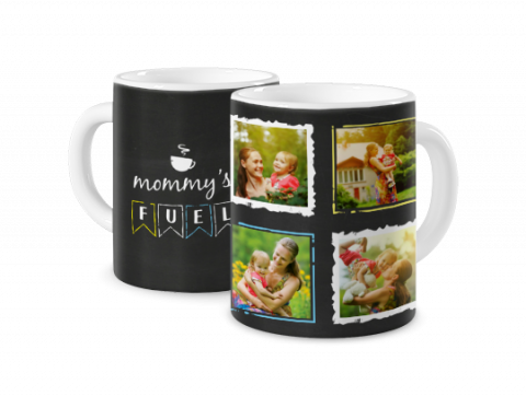 Mug Coloré Mommy's Fuel
