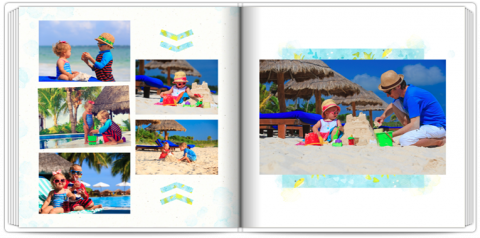Photo Book 24x24 Exotic Holidays