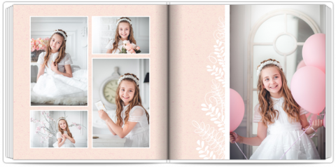 Photo Book 24x24 First Communion Keepsake
