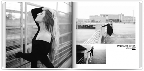Photo Book 24x24 Modeling Portfolio