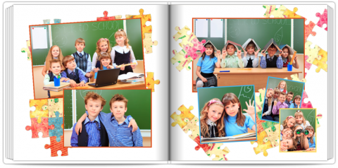 Photo Book 24x24 Puzzle Kids