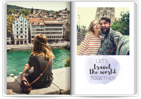 Photo Book A4 Portrait Travel