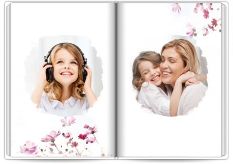 Photo Book A4 Portrait A gift for Mom