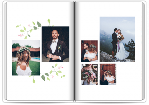 Photo Book A4 Portrait Wedding Anniversary