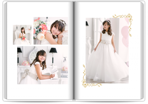 Photo Book A4 Portrait In White
