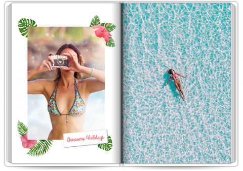Photo Book A4 Portrait Tropical Holidays