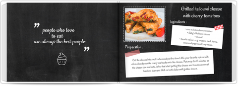 Photo Book A5 Softcover Cook Book
