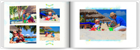 Photo Book A5 Softcover Exotic Holidays