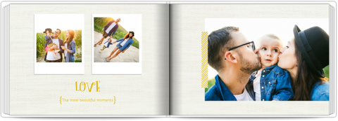 Photo Book A5 Softcover Happy Family
