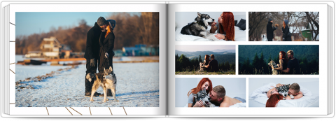 Photo Book A5 Softcover Lovely Lines