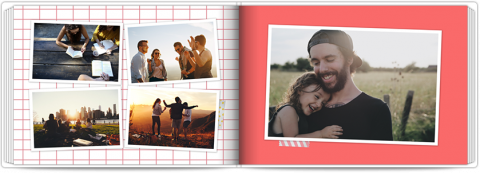 Photo Book A5 Softcover Memories Notebook