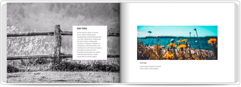 Photo Book A5 Softcover Photo Story