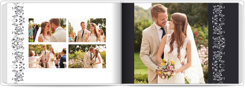 Photo Book A5 Softcover Wedding