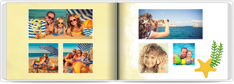 Photo Book A5 Softcover Sunny Summer
