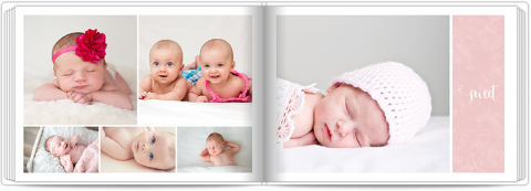 Photo Book A5 Softcover Sweet Angel - Pink