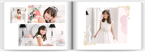 Photo Book A5 Softcover In White
