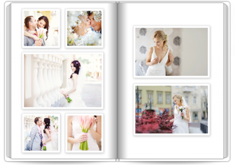 Photo Book Deluxe 8x11,5 inches White
